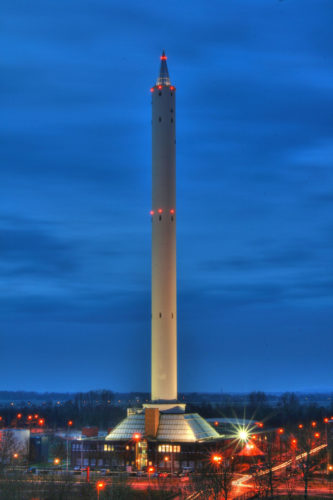 Drop Tower w Bremen. Fot. Dante (CC BY-NC-ND 2.0)