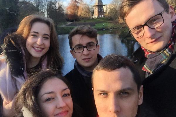Członkowie PW-Sata2 w Bremen znajdują też czas na zwiedzanie