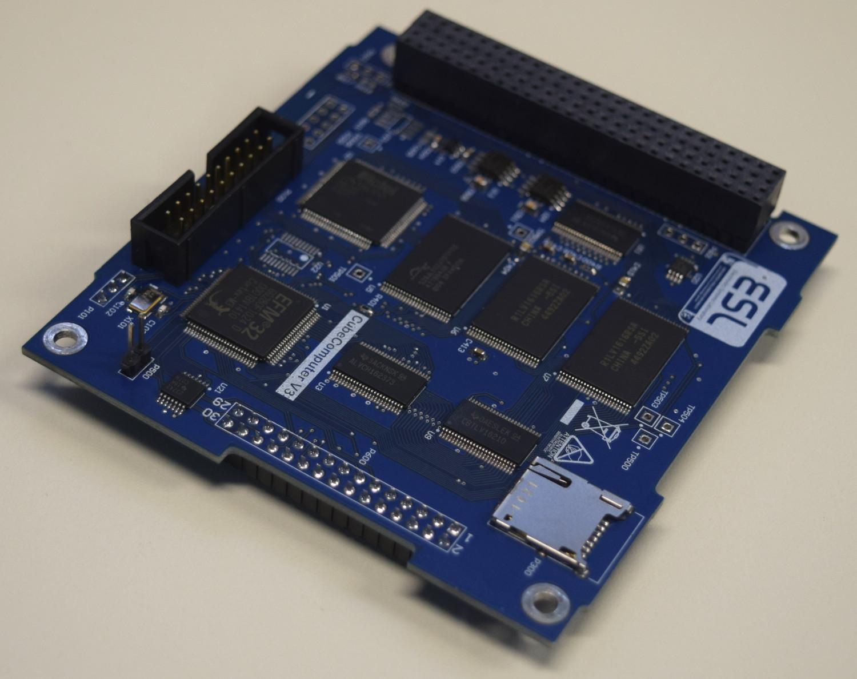 Komputer pokładowy CubeSpace CubeComputer V3